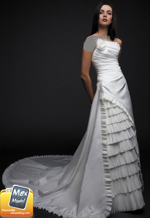 لباس های قشنگ عروس 2011