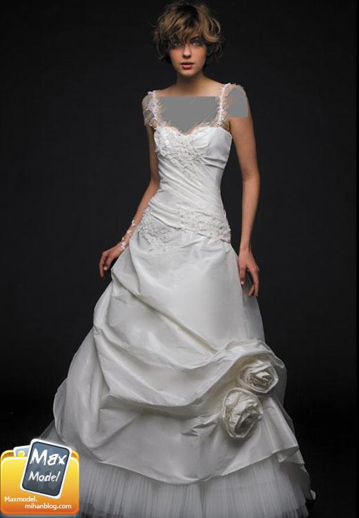 مدل لباس عروس 2011